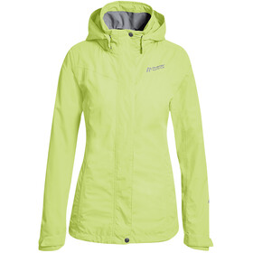 Maier Sports Metor 2 Layer Packaway Jacket Damen sap green / sleeet